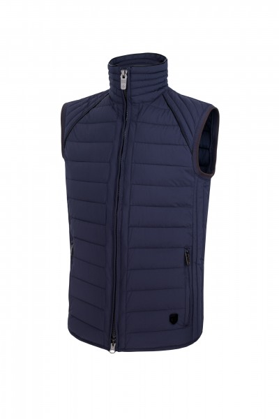 MOL Men Vest Moonlightblue Vorderansicht